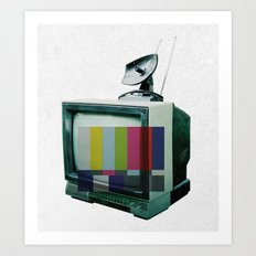 Tune In... Art Print