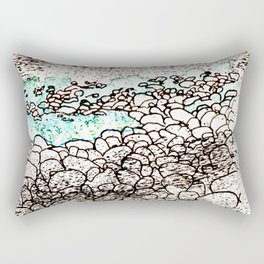 ...on the seashore Rectangular Pillow