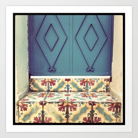 Pattern & colore Art Print