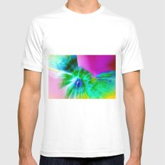 Poppies Reborn White Mens Fitted Tee SMALL
