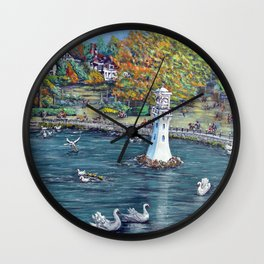 Roath Park Lake, Cardiff Wall Clock
