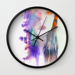 Dauðalogn Wall Clock