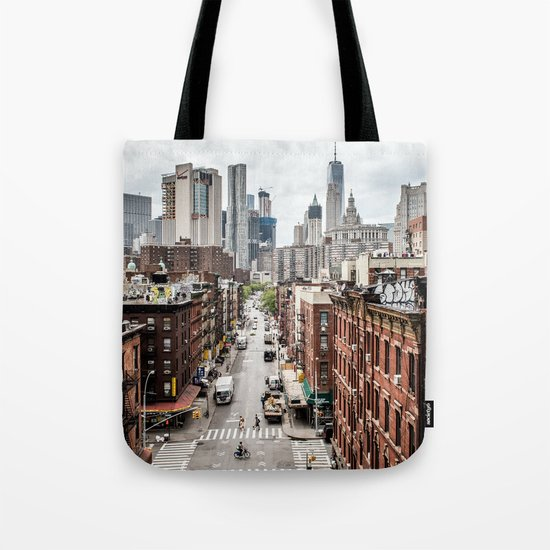 New york City USA Tote Bag