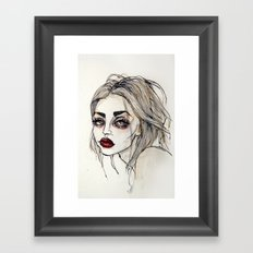 Frances Bean Cobain no.3 Framed Art Print