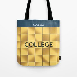 COLLEGE | Subway Station Tote Bag