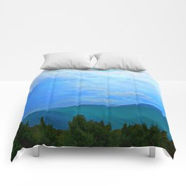 Blue Ridge Mountains Comforters
