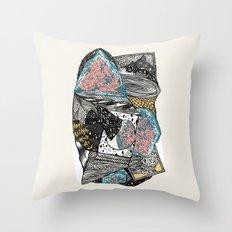 Cosmic geology Throw Pillow
