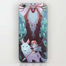 Return of the forest iPhone & iPod Skin