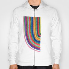 Curved Stripes Hoody