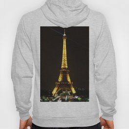 Eiffel Tower At Night Hoody