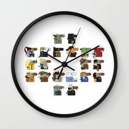 Hooray for Hollywood  Wall Clock