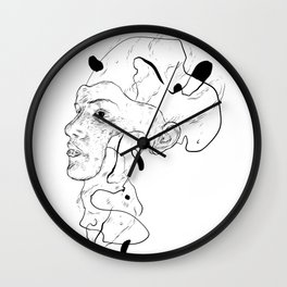 "Lets just say ""it's complicated"" Wall Clock"
