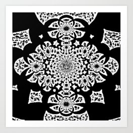 Lace As Abstract Art Print