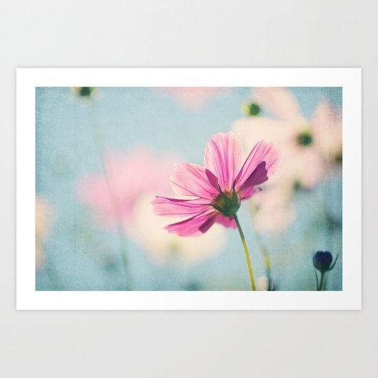 A beautiful morning Art Print