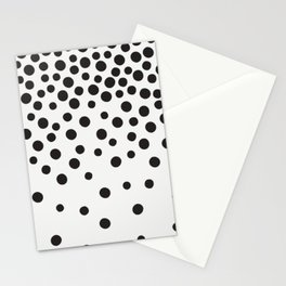 Rain of Dots Stationery Cards