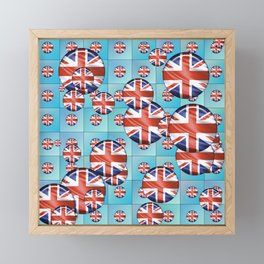 United Kingdom Framed Mini Art Print