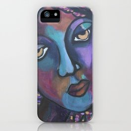 Pigeon Island Blues iPhone Case
