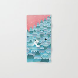 Tree Hugger Hand & Bath Towel