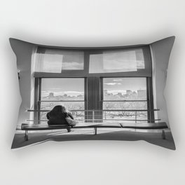 Ventana al mundo Rectangular Pillow