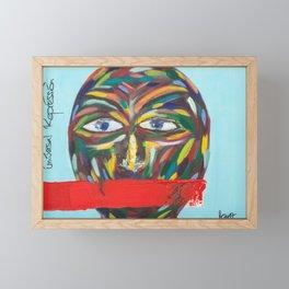 Universal Repression Framed Mini Art Print