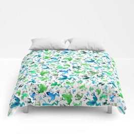 Tree Frogs Comforters