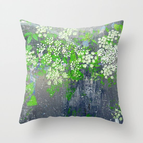 FlowerPower Fantasy 9-A Throw Pillow