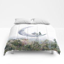 Moon House Comforters