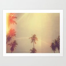 Palm Sunday Art Print