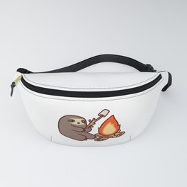 Campfire Sloth Fanny Pack