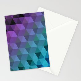 Flight of the Triangles Stationery Cards