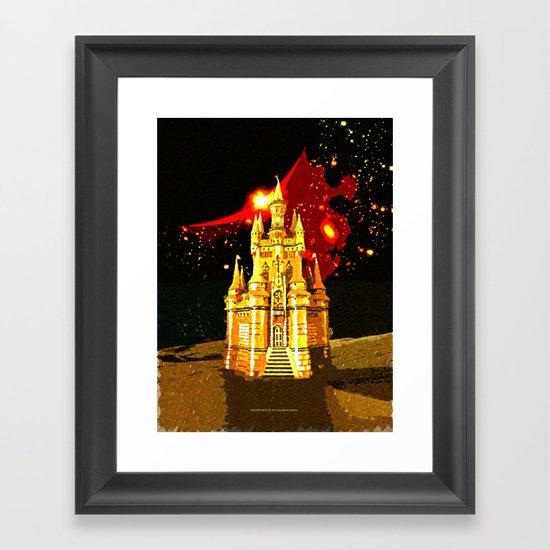 GOLDEN CASTLE-005 Framed Art Print