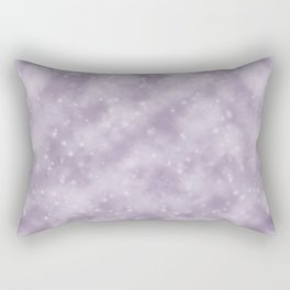 Purple Starry Fog Rectangular Pillow
