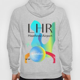 LHR Heathrow airport code Hoody