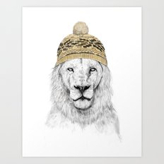 Winter is here Art Print