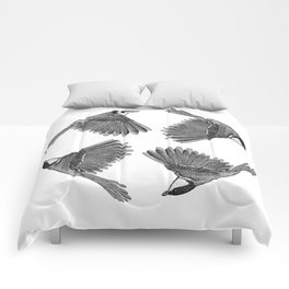 A Great tit named Titus Comforters