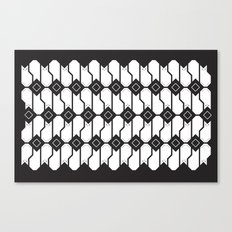 Cat box pattern Canvas Print