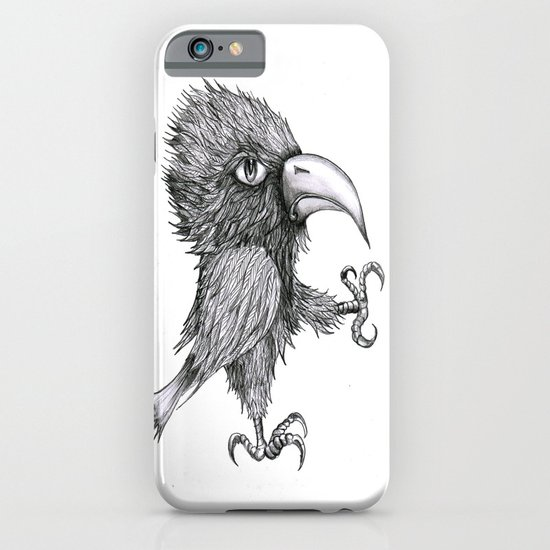 Grouchy Bird iPhone & iPod Case