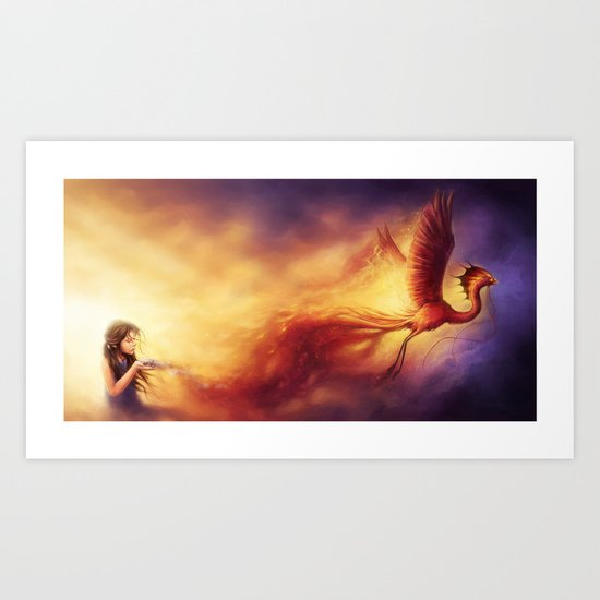 """""""Born from the Ashes"""" Art Print"""