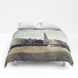 London city view Comforters