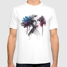 Rooney White Mens Fitted Tee SMALL