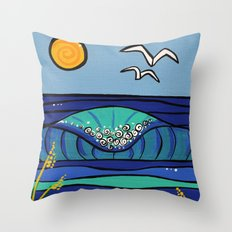 morning mood Throw Pillow