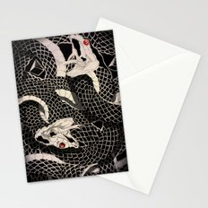 Dueling Snakes Stationery Cards