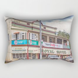 The old Country Pub Rectangular Pillow