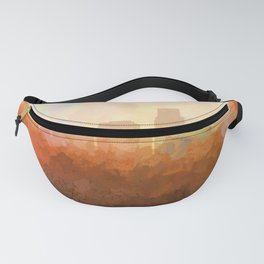 Corpus Christi, Texas Skyline - In the Clouds Fanny Pack