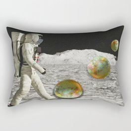Moon Shot #collage Rectangular Pillow