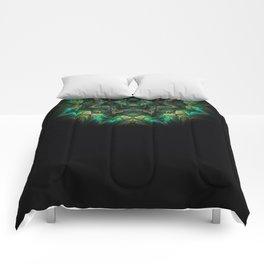 Neck Brace Fractal Comforters