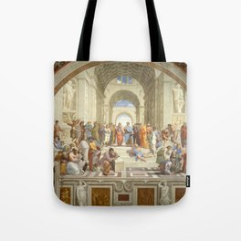Raphael - The School of Athens Tote Bag