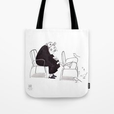 Little Old Bird Lady Tote Bag