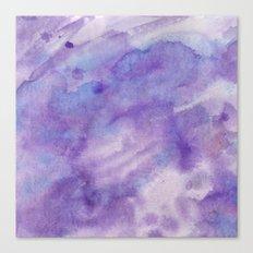 Purple Square Canvas Print
