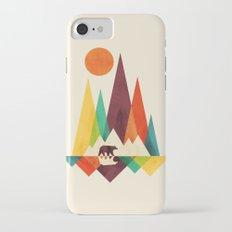 Bear In Whimsical Wild iPhone 7 Slim Case